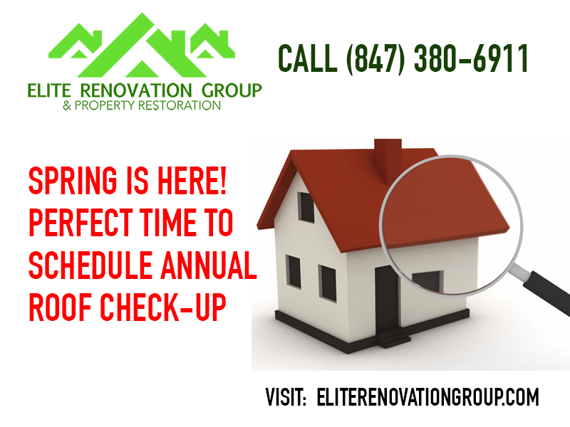 Annual Roof Check-up: Elite Renovation Group